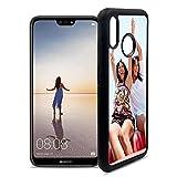 Getsingular Fundas de móvil Huawei P20 Lite Personalizadas con Fotos y Texto   Fundas Negras con los Laterales Flexibles para el Huawei P20 Lite