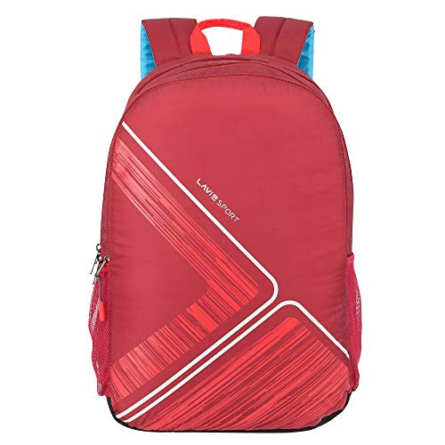 Lavie Sport Prism Casual Backpack 34 Litres Red Casual Backpack BDEI435041M4