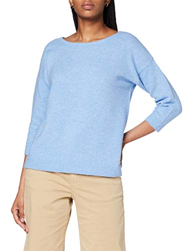 Esprit Damen 080EE1I327 Pullover, 444/LIGHT Blue 5, Large