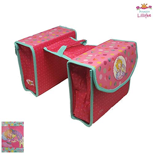 01170317K2 Kinder-Fahrradtasche Gepäckträgertasche Prinzessin Lillifee -NEU-