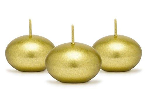 partydeco velas flotantes, Oro