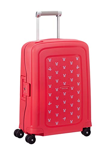 Samsonite S\'Cure Koffer, 55 cm, 34.0 Liter, Mickey Summer Red