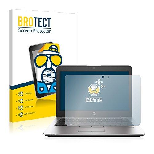 BROTECT Entspiegelungs-Schutzfolie kompatibel mit HP EliteBook 820 G3 Touch Bildschirmschutz-Folie Matt, Anti-Reflex, Anti-Fingerprint