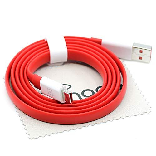 Cable de carga para Oneplus C201A para Oneplus 8T 8Pro 8 Nord 7T Pro 7 Pro 7 6T 6 5T 5 Warp Charge 30 Cable de datos 100 cm con paño de limpieza de pantalla Mungoo