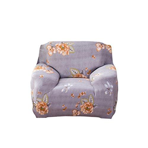 Polyester-winomo Hussen-Sofa Cover Schonbezug Couch Displayschutzfolie für einzigen Sitz 90x 140(5)