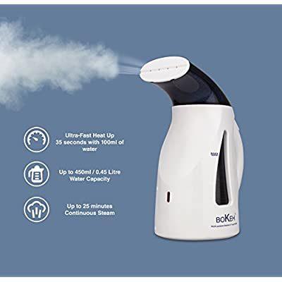BOKEH Clothes Steamer and Travel Kettle