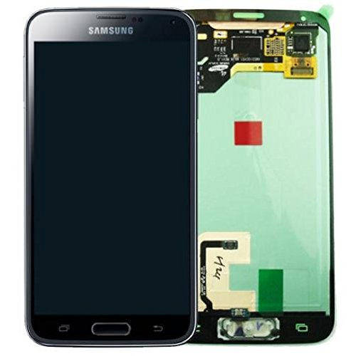 Samsung Galaxy S5 SM-G900F blau/blue Display-Modul + Digitizer GH97-15959B