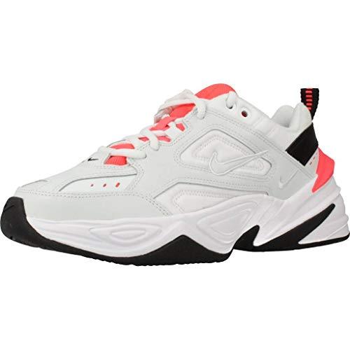 Nike M2K Tekno, Zapatillas de Trail Running para Mujer, Multicolor (Ghost Aqua/Ghost Aqua/Flash Crimson 401), 39 EU