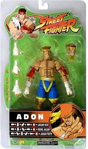 Street Fighter Actionfigur Serie 3 - Adon