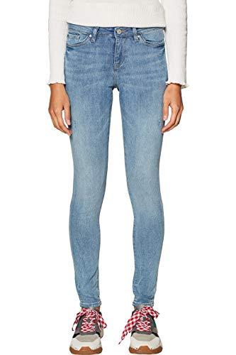 ESPRIT Damen 998EE1B816 Skinny Jeans, Blau (Blue Light Wash 903), W25/L32 (Herstellergröße: 25/32)