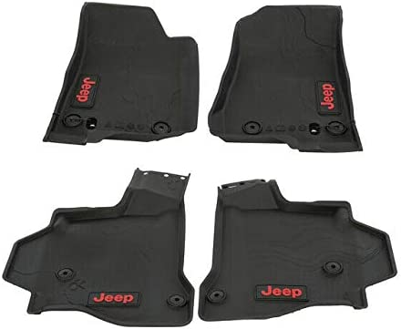 Jeep 2020 Gladiator All Animer and price revision Arlington Mall Weather Floor Mop OEM Red Mats Lettering