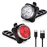 Vont 'Pyro' Bike Light Set, USB Rechargeable, Super Bright Bicycle Light, Bike Lights...