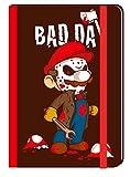 BAD DAY CUADERNO (TAPA DURA GOMA ELASTICA) (Calaveritas)