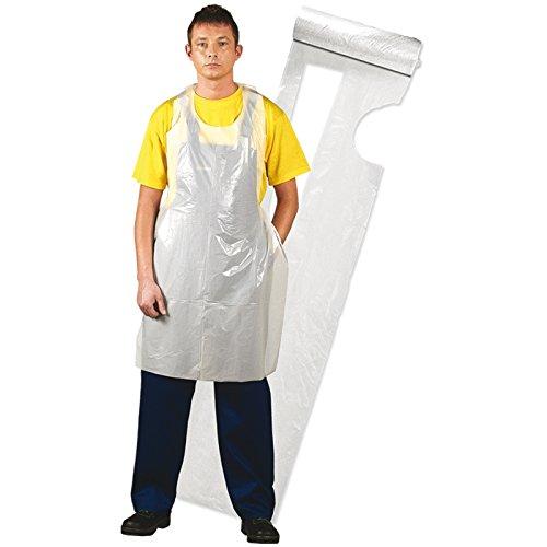 REIS VORDERSCHÜRZE FFOL-ROLL 100Stk Einweg Einmal Schürze Kochschürze Küchenschürze 117x70 cm