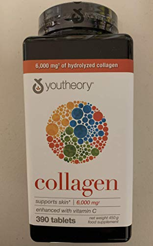 Youtheory Collagen Advanced Formula, 390 Tablets (2 Months Supply)