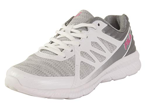 Fila Womens Finity 3 Workout Fitness Running Shoes White 6 Medium (B,M)