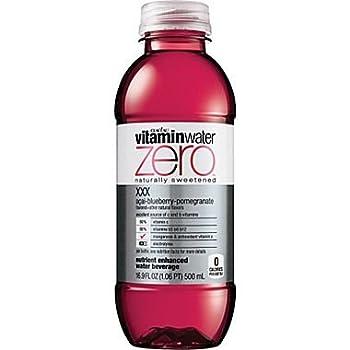 Vitamin Water Zero XXX Acai-blueberry Pomegranate 16.9 Oz  12 Pack