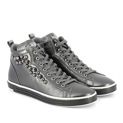 Nero Giardini Sneakers Scarpe Donna Piombo 6662 A806662D 39