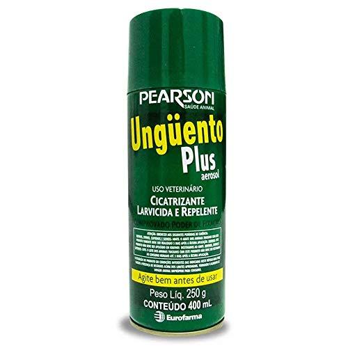 Solução Cicatrizante e Repelente Pearson Unguento Plus Aerosol para Ovinos, Caprinos, Suínos e Bovinos - 400ml