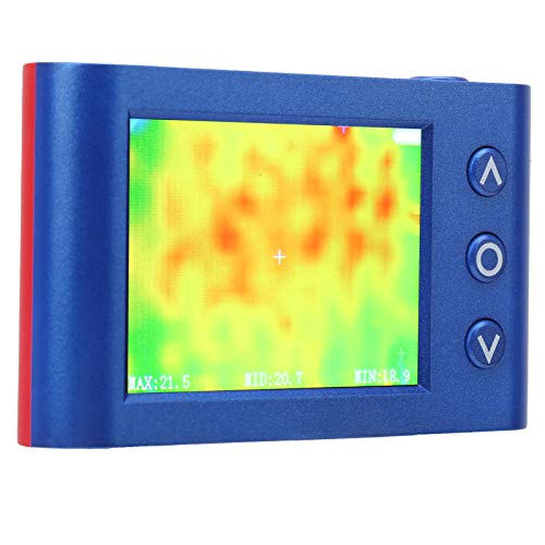 banapoy Wärmebildkamera, Infrarot-Wärmebildkamera, Infrarotkamera im Taschenformat mit Echtzeit-Thermografie, Infrarot-Bildauflösung von 32x24, Infrarot-Thermometer mit 2.4-Zoll-Farbdisplay