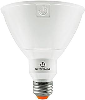 Green Creative 58149 PAR38 Flood LED Lightbulb, 2700K (Warm White), Dimmable,