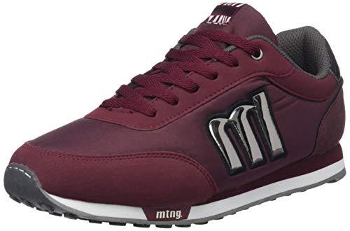 MTNG Attitude 56406, Zapatillas para Mujer, Rojo (Raspe Burdeos/Nylon Burdeos/Minerva Plata Vieja C42958), 40 EU