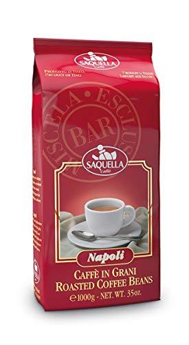 Saquella Kaffee Espresso Napoli Bar 1000g Bohnen