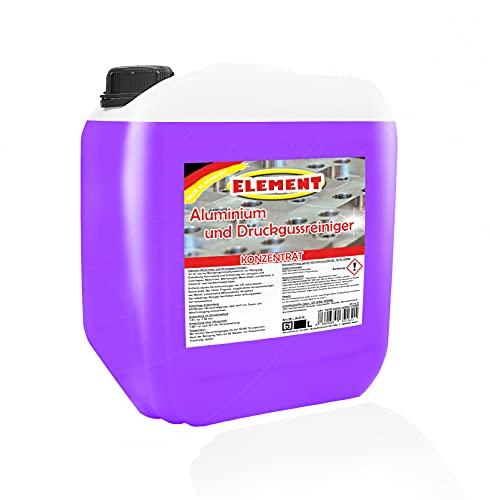 Element Ultraschallreiniger Aluminium und Druckgussreiniger 5 Liter Spezialreiniger Konzentrat Aluminiumreiniger