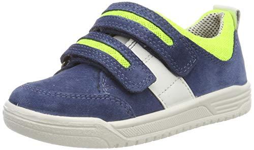 Superfit Jungen Earth Sneaker,Blau (Blau/Grün 81), 33 EU