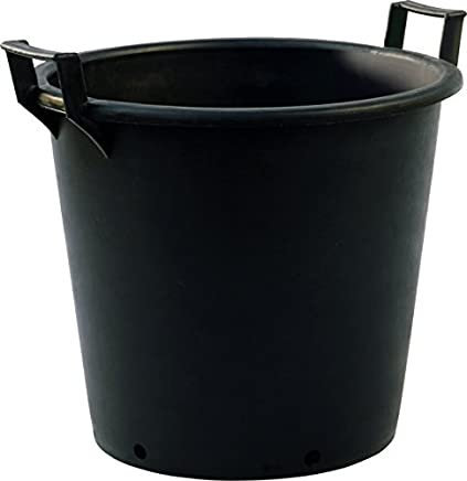 50 Litre Plastic Plant Pots (Heavy Duty with handles) Pack of 5 (a975)
