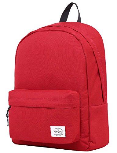 SIMPLAY Classic School Backpack Bookbag, Maroon