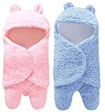 """Buy Super Soft High Quality Double Layered Baby Blanket For Baby Boy And Baby Girl From The House of Brand """"First Kick"""" Dimension - 76 cm x 70 cm , Applicable For 0-6 Months Baby Suitable for 15℃-26 ℃ as blanket, and all seasons as bed spread. Light ..."""