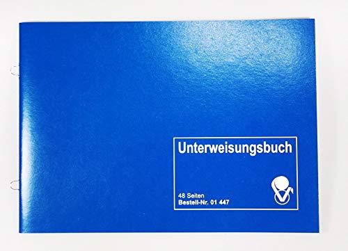VLV 01447 - Unterweisungsbuch für den betrieblichen Unfallschutz Unfallverhütung und Arbeitsschutz - Ringösenbindung zum Abheften (1)