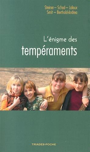 L'énigme des tempéraments