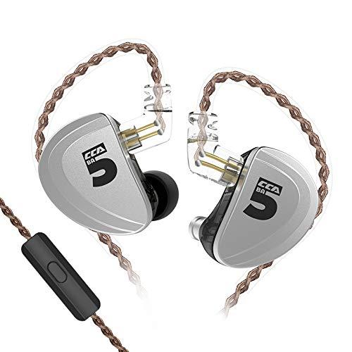 Great Deal! CCAA10in-EarMonitor,HiFi5BAin-EarEarphones,High-PerformanceZincAlloySh...