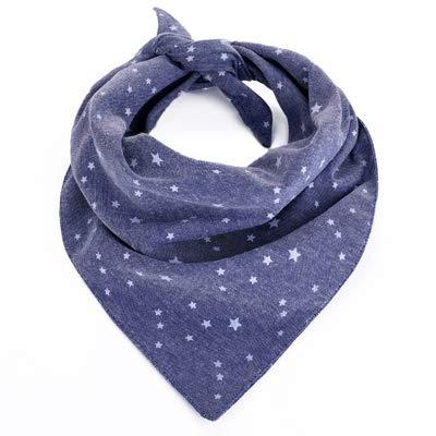 HENANA Hundehalsband Verstellbar Halsband Star Pet Saliva Towel Dog Triangular Bandage Outdoor Dogs Necktie Scarf Collar,Star,S