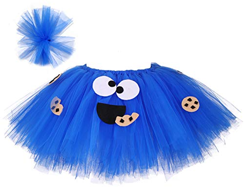 Tutu Dreams Cookie Costume for Baby Girls 1st Birthday Outfit Babies Halloween Candy Dress Up