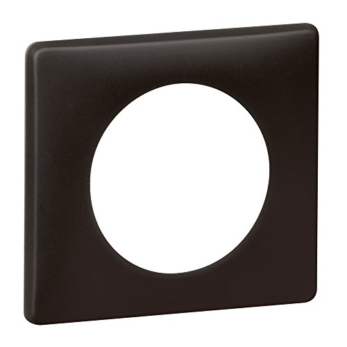 Legrand 066741 Celiane-Pulverplatte, 1 Arbeitsstation, Basalt-Finish