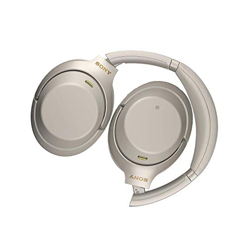 Sony WH1000XM3 Bluetooth Wireless Noise Canceling Headphones Silver WH-1000XM3/S (Renewed) 2