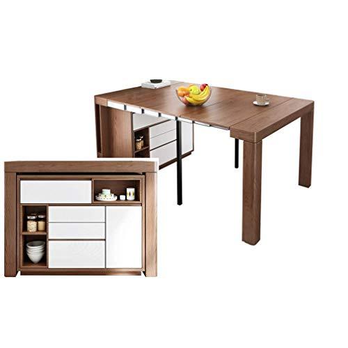 Klaptafel, moderne eettafel, maaltijd, zijkast, verstelbaar bureau, multifunctioneel meubel dressoir, werktafel, party, bureau