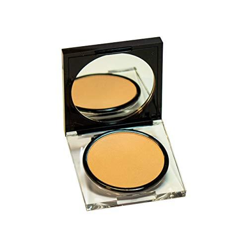 LUNACI Barcelona - Polvos Compactos Maquillaje   Polvos Matificantes - Textura Sedosa, D010 Beige Dorado