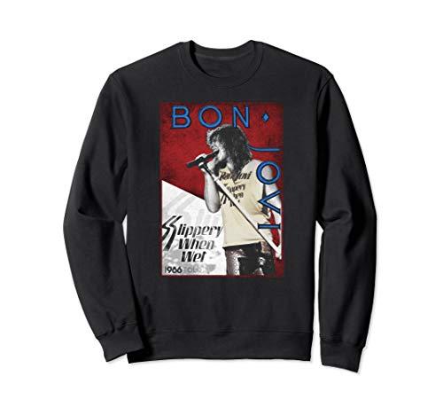 Bon Jovi 86 Tour Unisex Sweatshirt, 3 Colors, S to 2XL