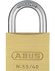 ABUS 02868 messing hangslot met 5401 Alike Keyed