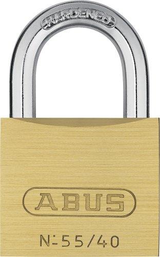Abus - 55/40 mm messing hangslot gelijksluitend 5401 - ABUKA02868