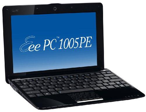 Asus Eee PC 1005PE 25,7 cm (10,1 Zoll) Netbook (Intel Atom N450 1.6GHz, 1GB RAM, 250GB HDD, Win 7 Starter) schwarz