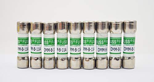 DMM-B-11A DMM-11A DMM11 - Fusible de repuesto para multímetro digital (11 A, 1000 V, 803293)