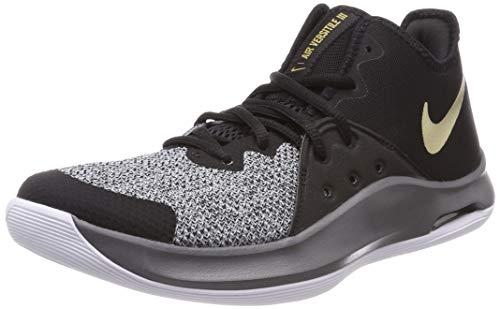 Nike - NIKE AIR VERSITILE III - Chaussures - Homme - Noir/Gris (BLACK/METALLIC GOLD-DARK GREY) - 42 EU