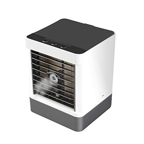Luftbefeuchter Kälte Klimaanlage Ventilator Desktop Spray Kleiner Ventilator 15 * 16 * 19cm