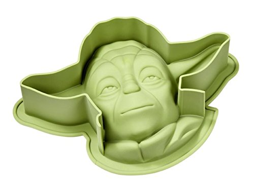 Molde XL para hornear tortas Star Wars - Yoda