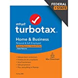 TurboTax Home & Business Desktop 2020 Tax Software, Federal and State Returns + Federal E-file [Amazon Exclusive] [MAC Download]